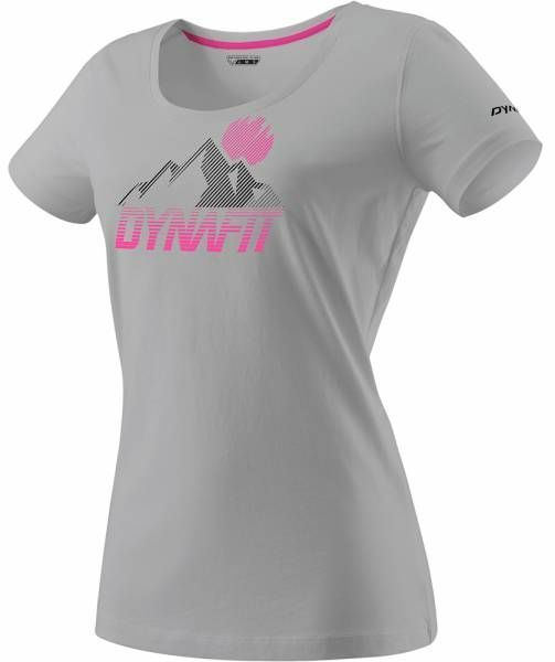 Dynafit Transalper Graphic Shirt Damen T-Shirt alloy