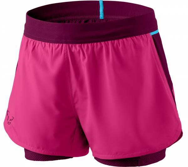 Dynafit Alpine Pro 2in1 Shorts Damen Trailrunning-Short flamingo