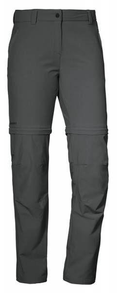 Schöffel Pants Ascona Zip Off Damen Outdoorhose asphalt