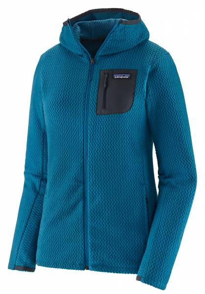 Patagonia W's R1® Air Full-Zip Hoody Damen Midlayer steller blue