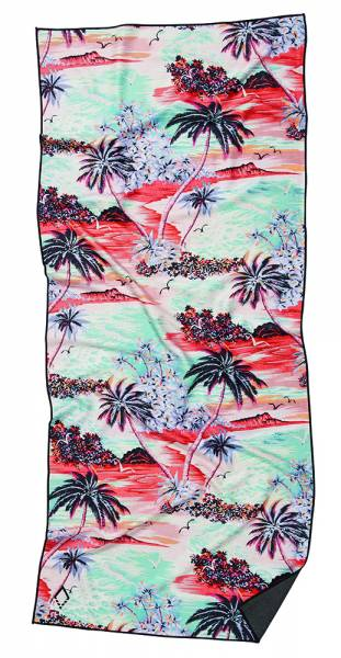 Nomadix Island Time Towel Handtuch time single sided