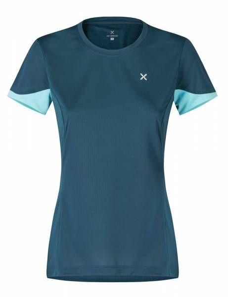 Montura Join T-Shirt Damen Funktionsshirt blu cenere/ice blue