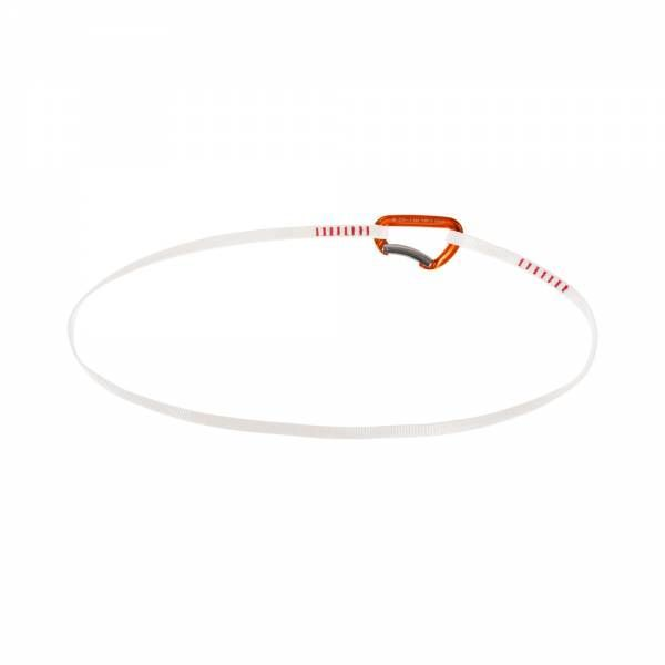 Mammut Alpine Trad Sling Rundschlinge Bent Gate orange-white