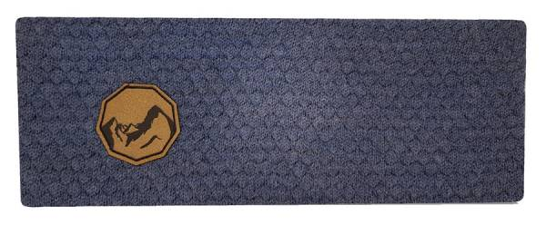 Karli Berggwand Merino Stirnband blau