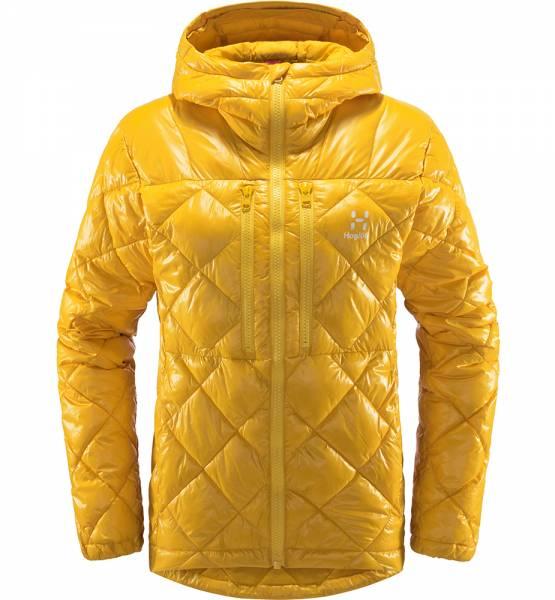 Haglöfs Roc Mimic Hood Damen Isolationsjacke pumpkin yellow