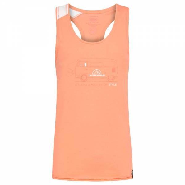 La Sportiva Van Tank Women Tankshirt Flamingo