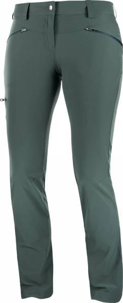 Salomon Wayfarer Straight Pant Women Softshellhose green gables