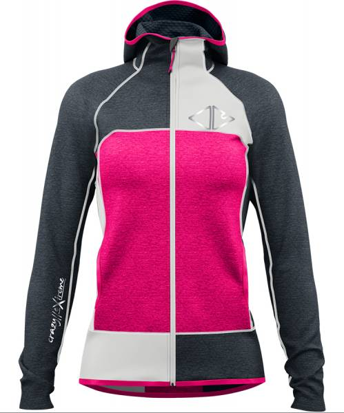 Crazy Idea Pull Ionic Damen Midlayer pink
