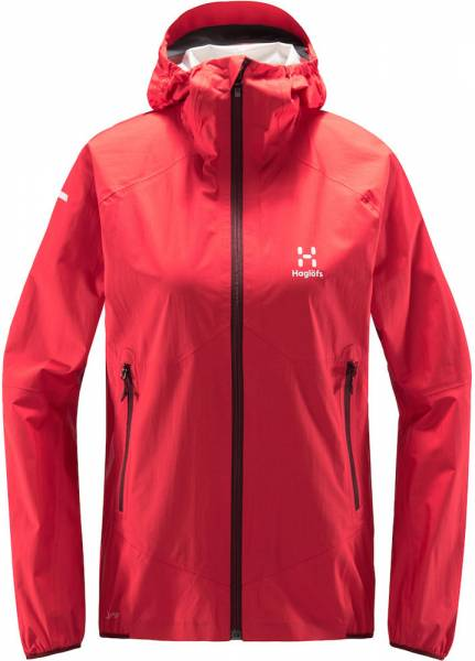 Haglöfs L.I.M. Proof Multi Jacket Women Hardshelljacke hibiscus red