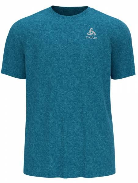 Odlo Run Easy 365 T-Shirt Herren Running-Shirt horizon blue melange