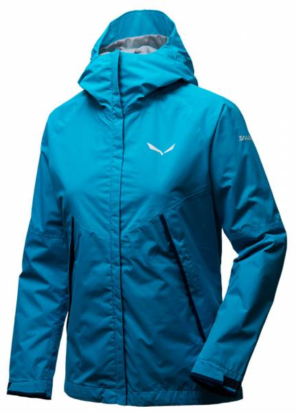 Salewa Puez PTX 2L Jacket Women Shelljacke hawaiian blue melange