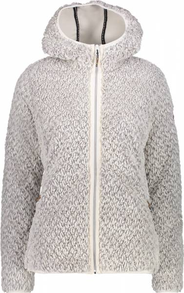 CMP Jacket Fix Hood Women Fleecejacke B.Co Gesso