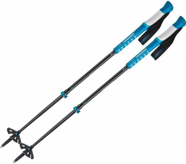 Komperdell Carbon C2 Ultralight Blue Skitourenstock