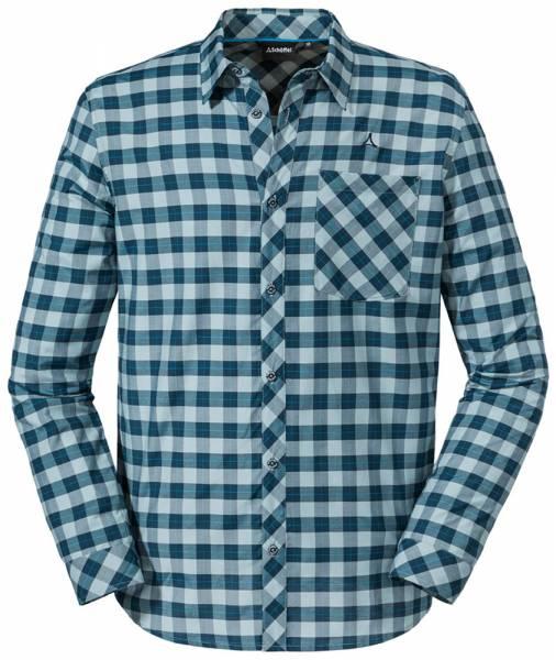 Schöffel Colfosco Shirt M Herren Langarmhemd moonlit ocean