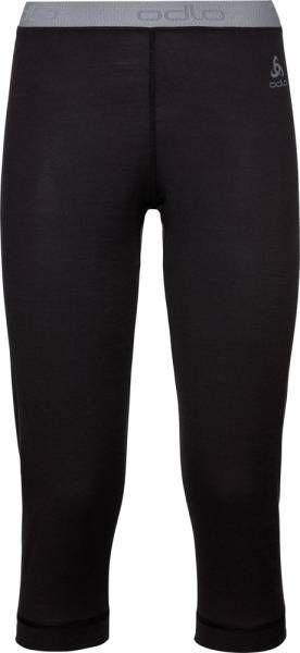 Odlo Natural 100% Merino Warm Women Funktionsunterwäsche 3/4 Hose black
