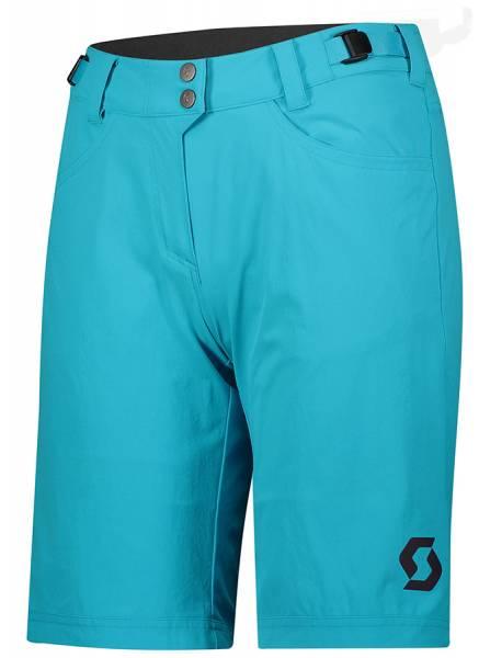 Scott Trail Flow Shorts Damen Fahrradhose breeze blue