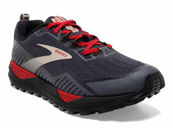 Brooks Cascadia GTX 15 Herren Trailrunningschuh black/ebony/red
