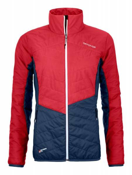 Ortovox Swisswool Dufour Jacket Women hot coral