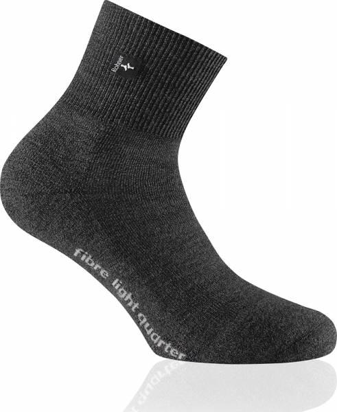 Rohner Fibre Light Quarter Trekking-Socke anthrazit