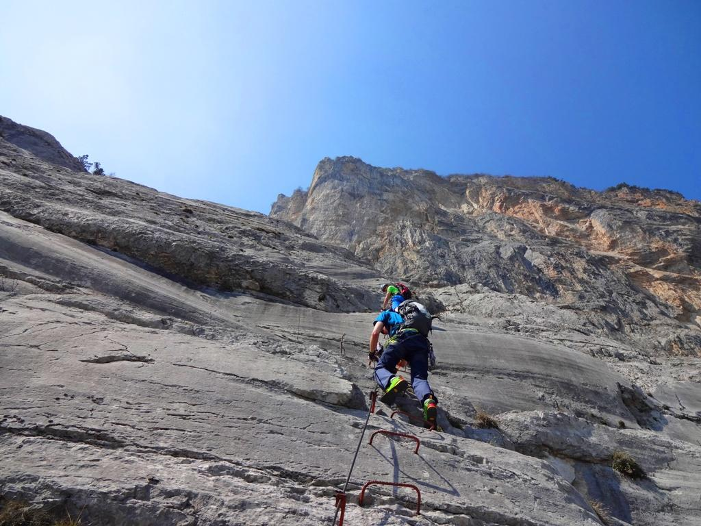 Klettersteig Ferrata : Klettersteig via ferrata che guevara sport praxenthaler