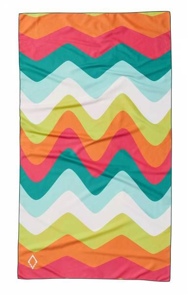 Nomadix Ultralight Towel Handtuch melt green pink