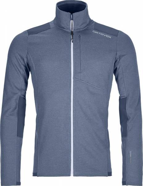 Ortovox Fleece Light Grid Jacket Men Jacke night blue
