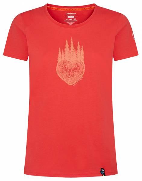 La Sportiva Wild Heart Damen T-Shirt hibiscus