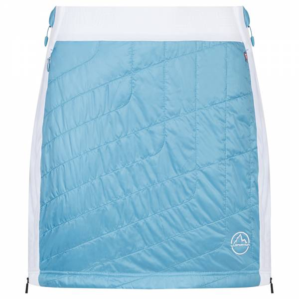 La Sportiva Warm Up Primaloft® Skirt W Damen Isolationsrock pacific blue/white