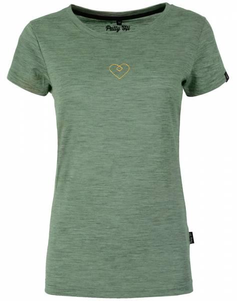 Pally´Hi Heartzl Damen T-Shirt heather moss