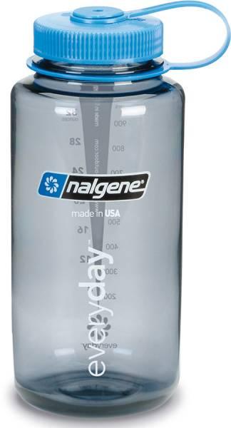 Nalgene Weithals 1L Trinkflasche grey