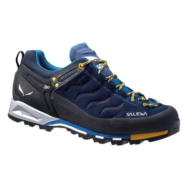 Salewa MTN Trainer GTX Men navy-nugget gold