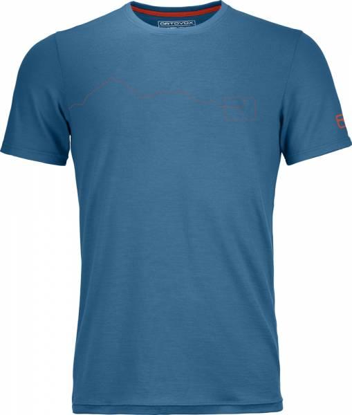 Ortovox 150 Cool Mountain T-Shirt Men blue sea Funktionsshirt