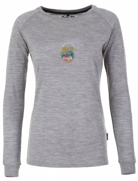 Pally´Hi Deep Horizon Women Longsleeve heather grey