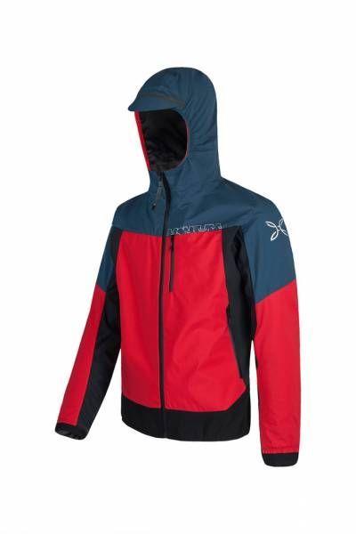 Montura Air Action Hybrid Jacket Herren Hardshelljacke blue cenere/rosso