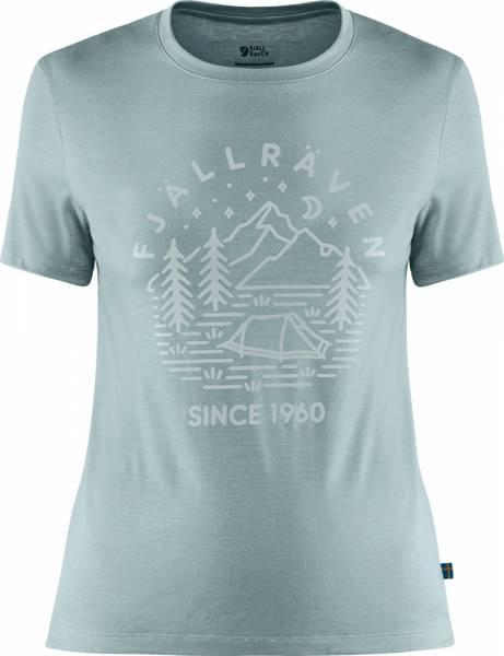 Fjällräven Abisko Wool Tältplats SS Women mineral blue