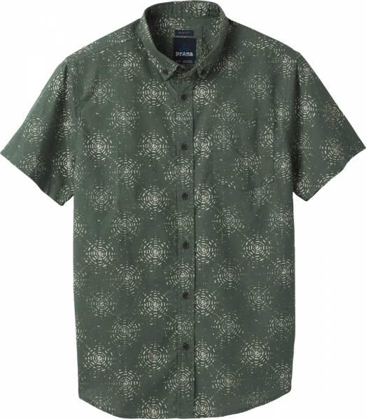 Prana Hillsdale Shirt Men Kurzarmhemd slim canopy