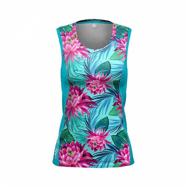 Crazy Idea Sirio Top Women Funktionsshirt Aloha
