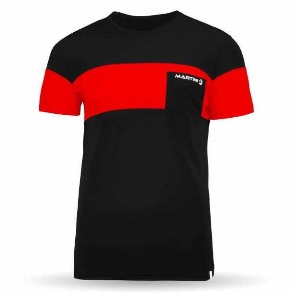 Martini Choice T-Shirt Men black/saffron Funktionsshirt