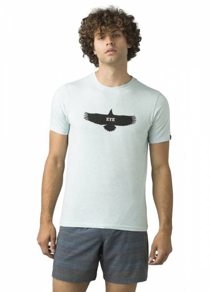 Prana Eagle Eye Journeyman Herren Klettershirt ice blue heather