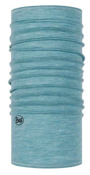 BUFF® Lightweight Merino Wool Multifunktionstuch solid pool