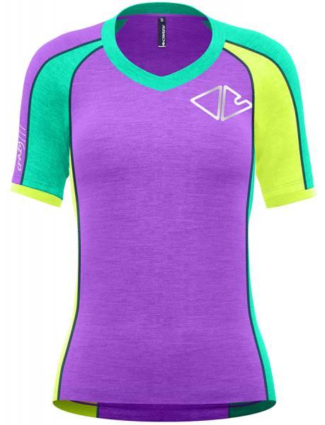 Crazy Idea T-Shirt Ionic Damen Funktionsshirt vintage