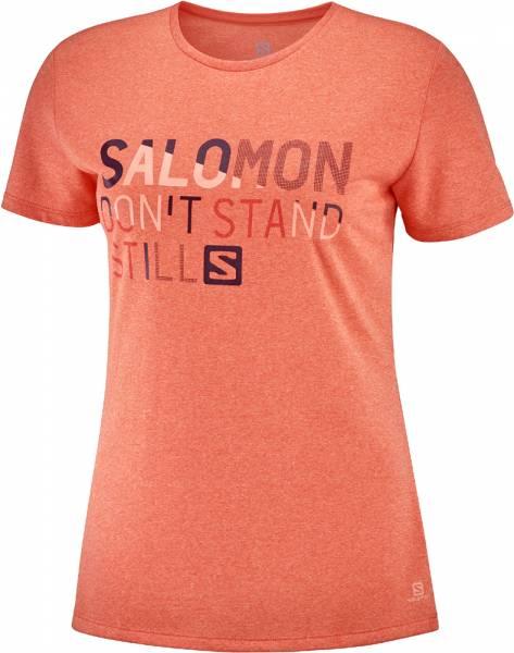 Salomon Comet Classic Tee Women Funktionsshirt print camellia