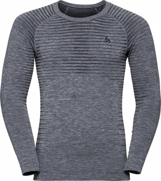 Odlo Performance Light Men Funktionsunterwäsche Langarm-Shirt grey melange