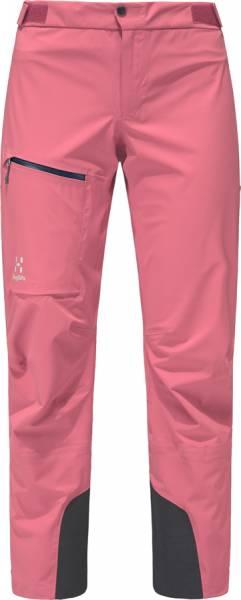 Haglöfs L.I.M. Touring Proof Pant Damen Skitourenhose tulip pink