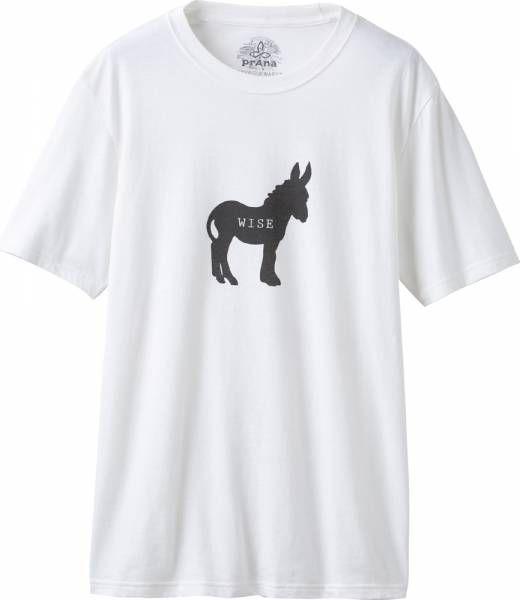Prana Wise Ass Journeyman Men T-Shirt white