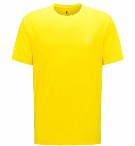 Haglöfs L.I.M. Tech Tee Men T-Shirt signal yellow