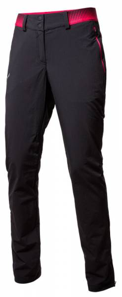 Salewa Pedroc 3 DST Regular Pant Softshellhose Women black out