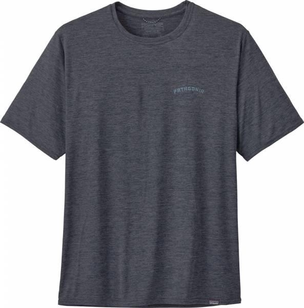 Patagonia Capilene Cool Daily Graphic Shirt Men playlands - mountains: smolder blue x-dye