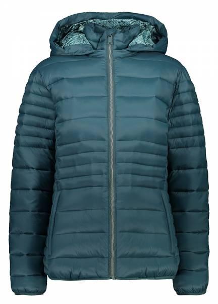 CMP Jacket Snaps Hood Damen Isolationsjacke petrolio (30K3666)