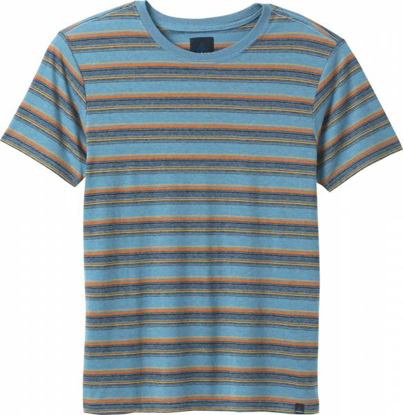 Prana Dustin Short Sleeve Crew Men T-Shirt dusky skies